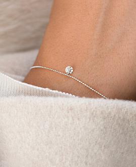 DIAMOND Armband 18K Weißgold