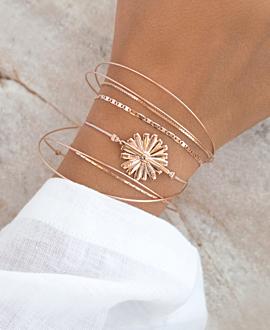 DAISY Armband Rosé