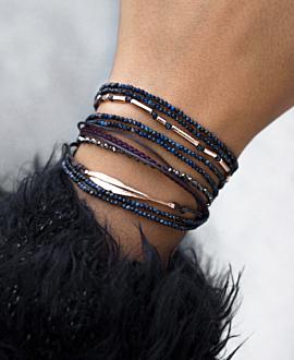 GAIA  Armband Blau