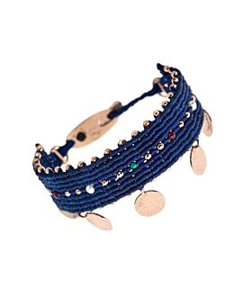 GAIA|Armband Blau