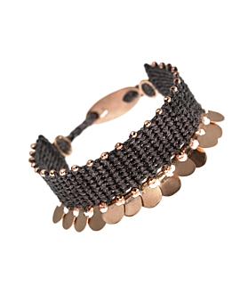 GAIA|Armband Anthrazit