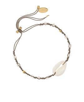 GEMMY KAURI|Armband Taupe