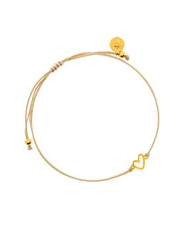 TRUE LOVE|Armband Gold