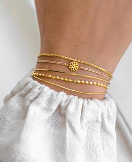 BLOSSOM  Armband Gold