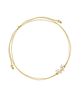 GEMMY BUTTERFLY  Armband Gold