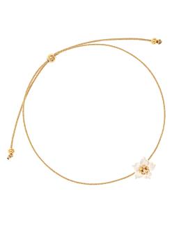 WHITE PEONY|Armband GOLD