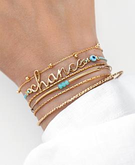 CHANCE  Armband Gold
