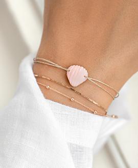 SEASHELL  Armband Rosa