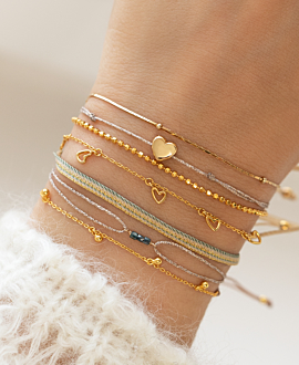 BLUE DIAMOND  Armband Gold