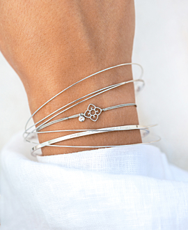 FIORE Armband Silber