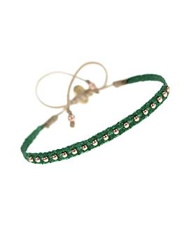 ETHNO|Armband Grün