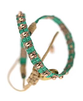 ETHNO Armband Hellgrün