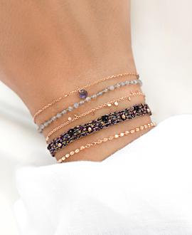 LETITCIA Armband Schwarz