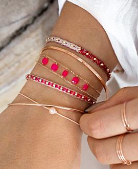 ETHNO Armband Rot