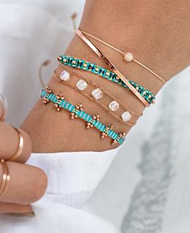 ETHNO Armband Türkis
