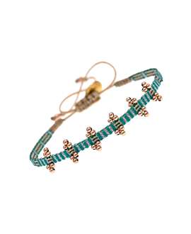 BOGOTÁ|Armband Türkis