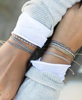 ETHNO  Armband Schwarz