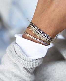 PEREIRA  Armband Braun