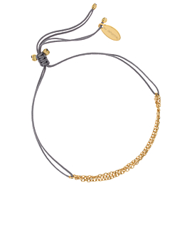 TRIPLE CHAIN|Armband Gold