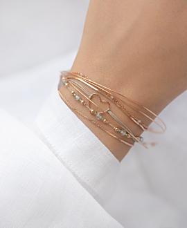 LABRADORIT  Armband Grün