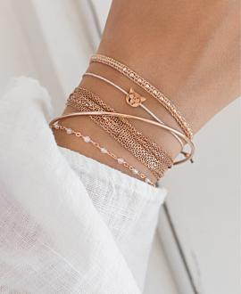 MEOW  Armband Rosé