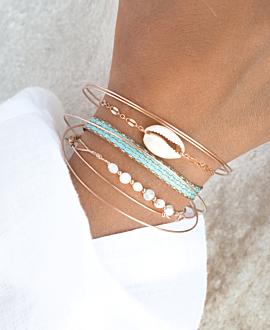 KAURI  Armband Beige