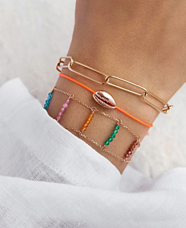 KAURI  Armband Orange
