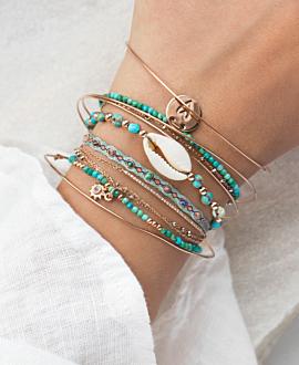 KAURI  Armband Türkis