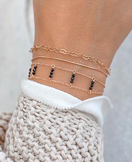 EUPHORIA Armband Schwarz