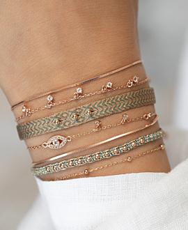 BOHO  Armband Türkis