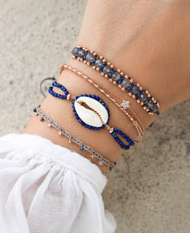 KAURI  Armband Blau