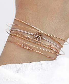 LUCKY LOVE  Armband Gold