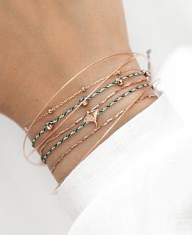 MANTA  Armband Türkis