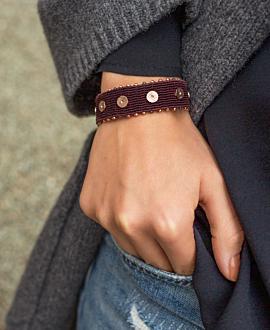 GAIA  Armband Bordeaux