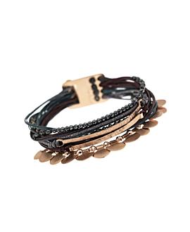 GAIA|Armband Braun