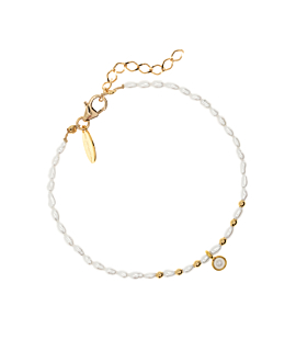 PEARLY DREAM|Armband Gold