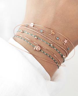 SHELL  Armband Türkis