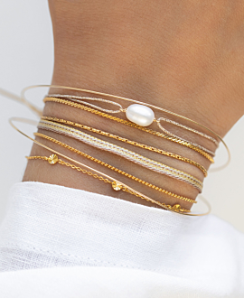 PEARL  Armband Gold