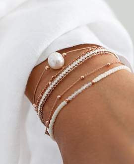 PEARL  Armband Bronze