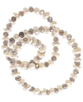 LABRADORIT  Armband Perle