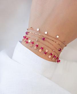 GRACIOUS  Armband Rot