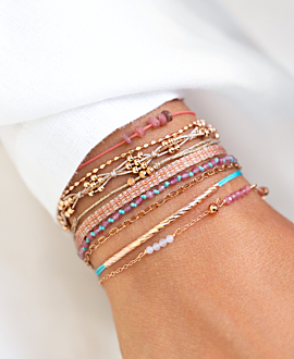 TOURMALINE  Armband Pink