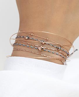 MANTA  Armband Blau