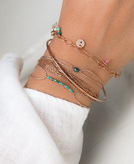 NATURELLE  Armband Blau