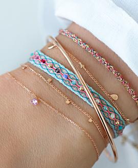 GYPSY Armband  14K Roségold