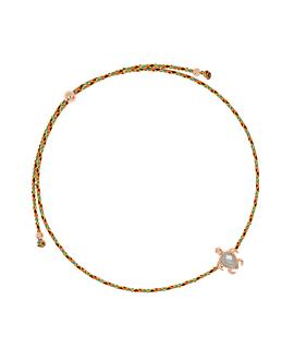 SEA TURTLE ROSÉ|Armband Orange