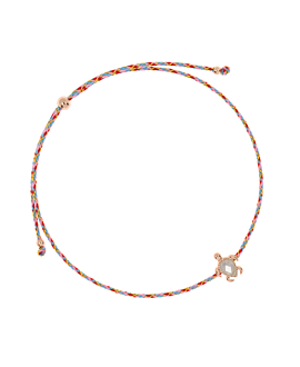 SEA TURTLE ROSÉ|Armband Rosa
