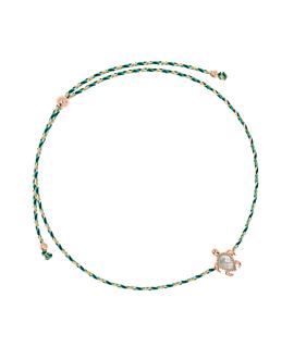SEA TURTLE ROSÉ|Armband Türkis