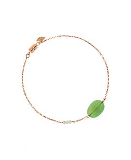 CHRYSOPRAS|Armband Rosé