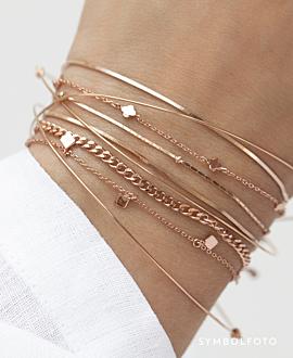 SHINY DETAILS  Armband Silber